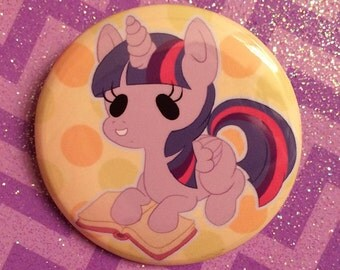 My Little Pony Twilight Sparkle Button