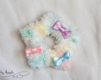 Fuzzy Star Clips