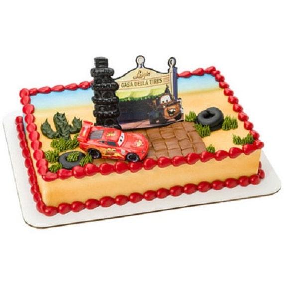 Disney Cars Cake Decorating Kit : Disney Cars Radiator Springs Birthday Party Cake Topper