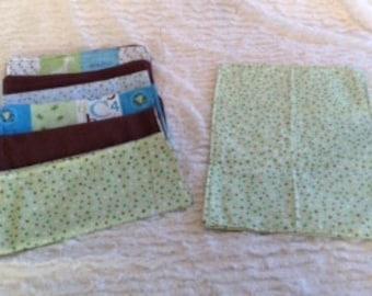 Infant Boy Burp Cloth Gift