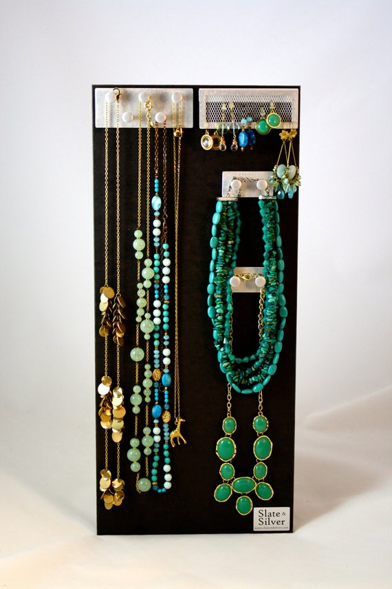 Modern jewelry organization and display board by SlateSilver - photo#33