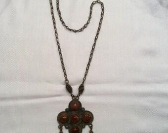 Rare Kuchi Himalayan necklace