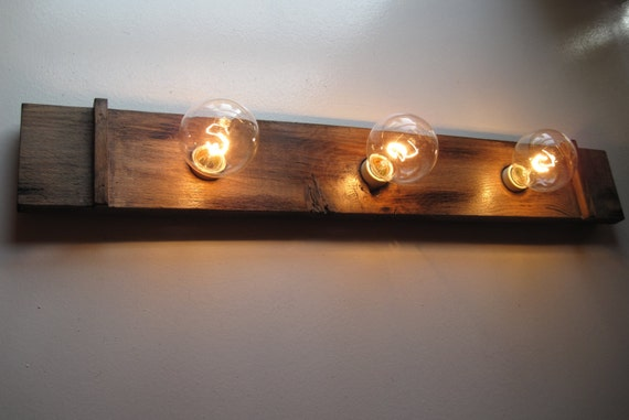 bathroom vanity wall mirror fixture custom light by