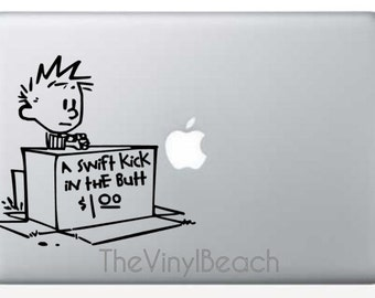 Calvin and Hobbes Decal - Calvin Decal