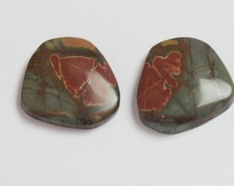 Cherry Creek/Red Creek Jasper Pair