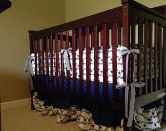 Custom Dallas Cowboys Crib set