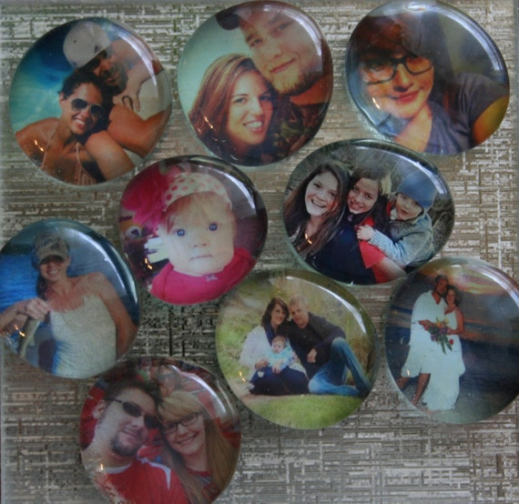 Glass Stone Magnets Personalized Glass Stone