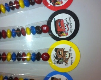 Cars Inspired Party Favor