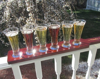 Personalized Beer Tasting  Sampler Set, Groomsmen Gift