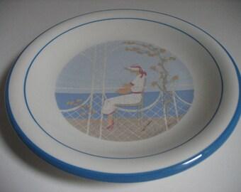 Yrimuwi Porcelain Handpainted Italian Plate
