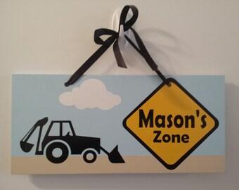 Truck Door Sign