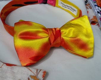 Bow Tie on Fire!!!