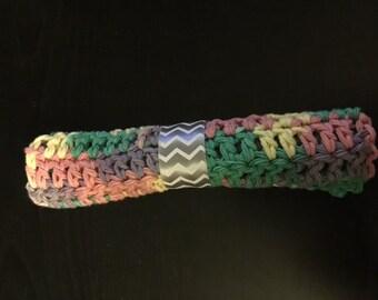 Rainbow Crochet wash cloths