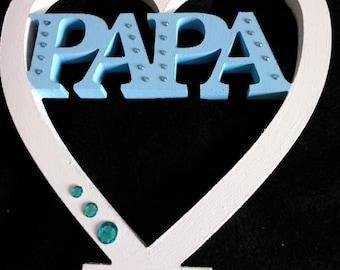 Papa Hanging Plaque