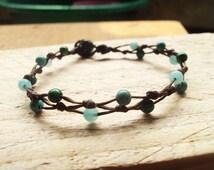 4mm Turquoise bracelets,Jasper Bracelets,Beaded bracelets,Beadwork bracelets
