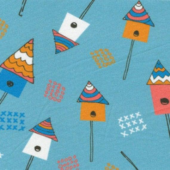 Birdhouse fabric childrens fabric sale fabric 50 off for Childrens fabric sale