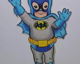 1978 DC Super Juniors Mexico Batman Paper figure