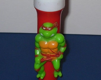 Vintage 1991 Raphael Teenage Mutant Ninja Turtles Kid's Flashlight