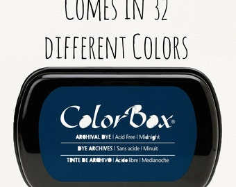 ColorBox Stamp Ink - Archival Ink Pads - Ink for Stamps - Stamp Ink