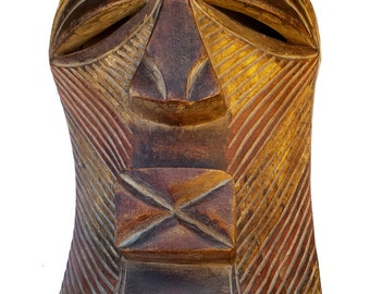 African Mask, Tribal Songye Mask from DR Congo