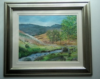 An original Acrylics Painting by Colin M Donnellan