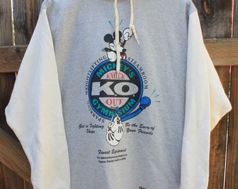 1990's Mickey's Knock Out Gymnasium Hoodie