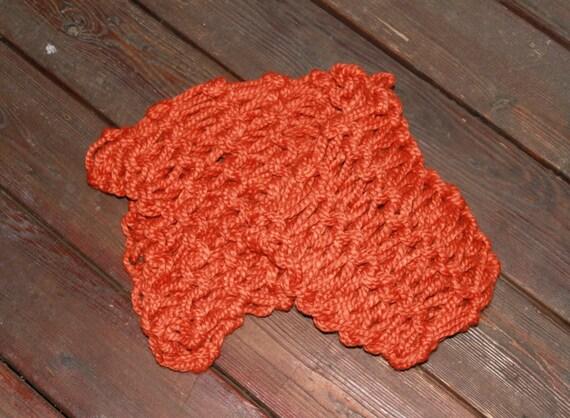 Infinity Scarf Knitting Pattern Garter Stitch : Items similar to garter stitch arm-knit infinity scarf on Etsy