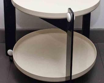 Orinial Luigi Massoni Trolley Or Side Table. Mid Century Modern