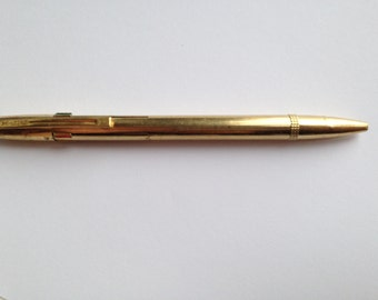 Waterman 4 gold plated colours