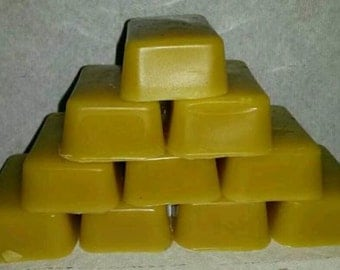 2 ounce Beeswax bar from chemically untreated hives
