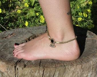 ankle ethnic vintage boho azulcasinegro
