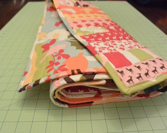 Every Which Way Strip Baby Quilt: CUSTOM