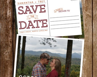 Save the Date Postcards {deposit}