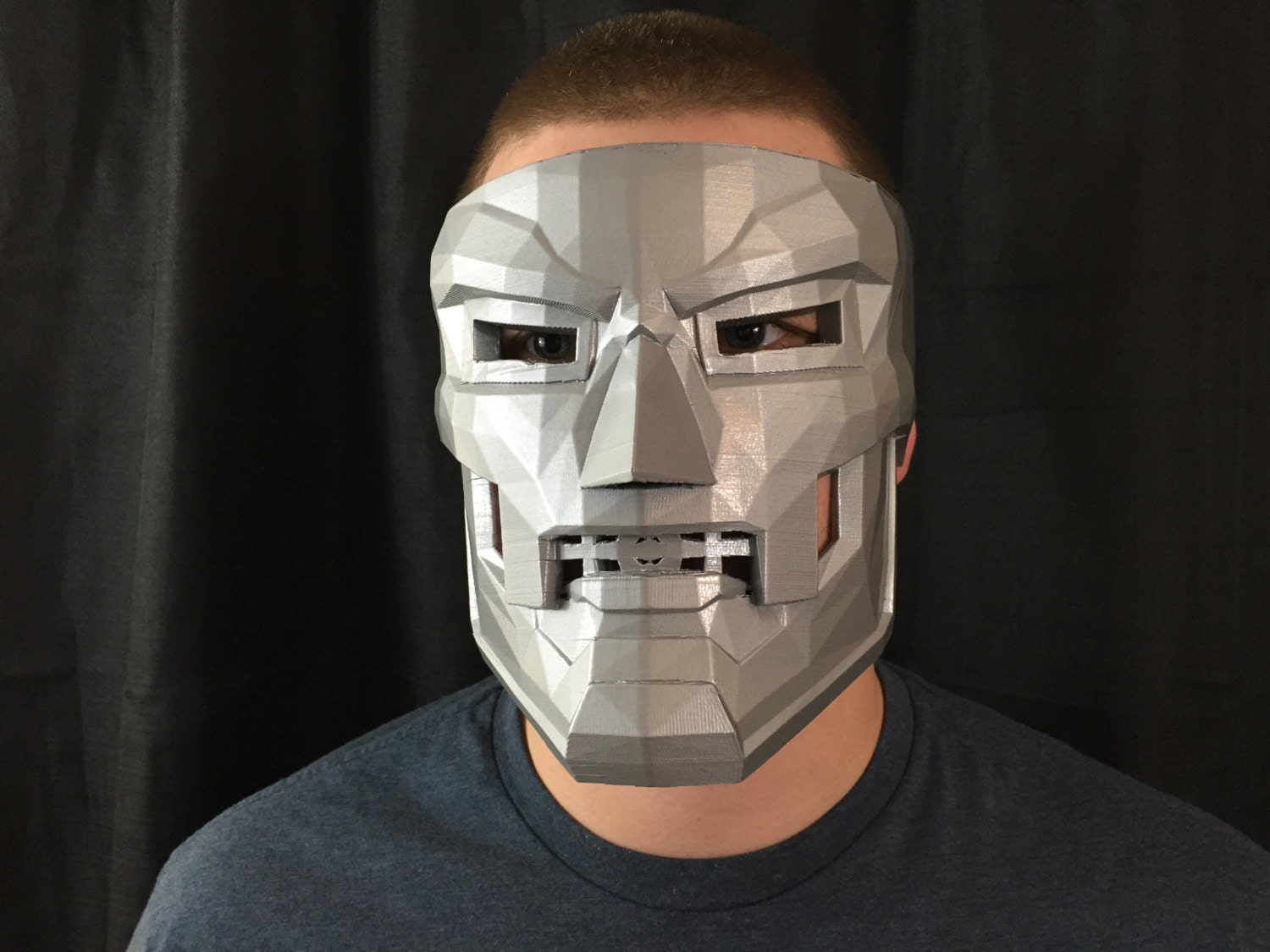 Dr Doom Mask Replica / Cosplay / Costume / 3-D Printed by ...