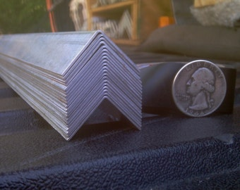 Aluminum Angle 3/4 x 3/4 x 48 in, 1/32 in thick (Light Weight)