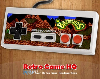 NES - Battletoads - Controller Overlay (Controller Not Included)