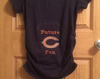 Future fan materniry shirt
