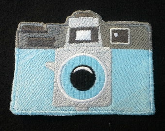 Holga Camera Patch - Iron on - Embroidered