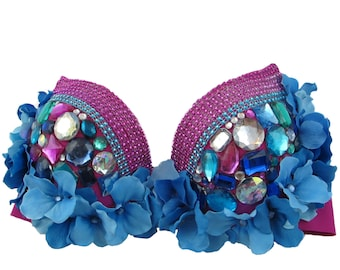 Rave Bra Magenta Magic