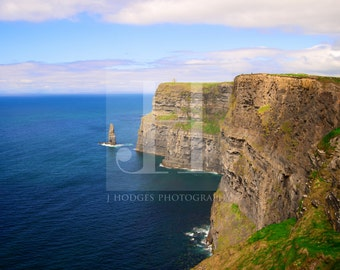 The Depths of Moher {PRINT - Cliffs of Moher, Irish Landscape Photography, Ireland}
