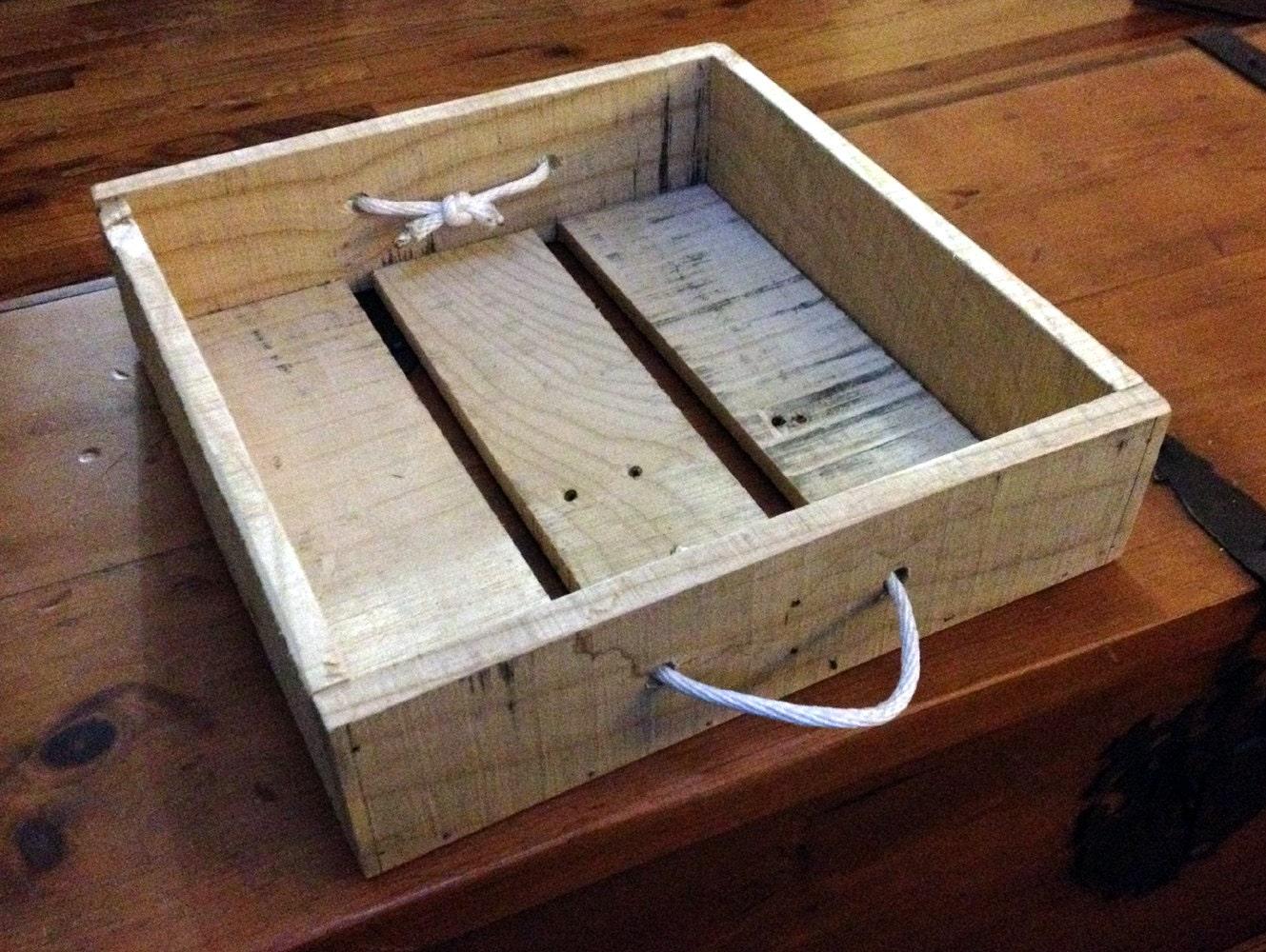 Wood pallet storage box for Pallet wood storage box