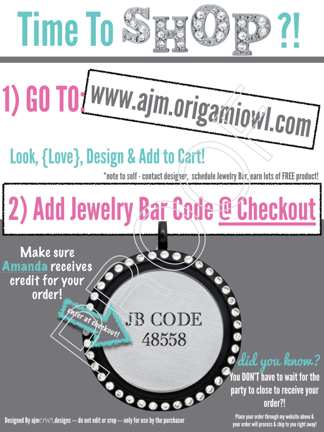Jewelry Bar Code/How to order discounted updates by ... - photo#41