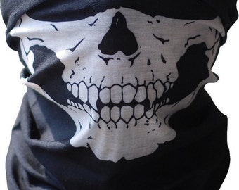 Skull Face Mask Biker Bandana Call of Duty Tactical Airsoft Camo Halloween COD Balaclava