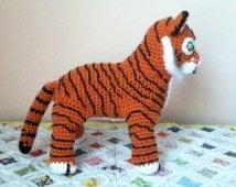 Crochet Pattern For Amigurumi Tiger : Popular items for amigurumi tiger on Etsy