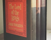 Lord of the Rings Complete Trilogy Boxed Set | 2nd Edition | 1965 | J.R.R. Tolkien | Hardcover Books | LOTR