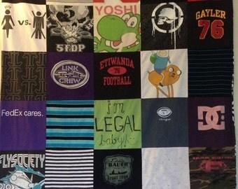 Memory/T-Shirt Quilt