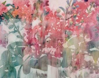 Original Painting  Crepe Myrtle Series #4