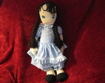 Laura--1930s pattern stuffed doll