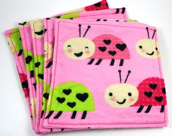100% cotton flannel cloth baby wipes / wash cloths