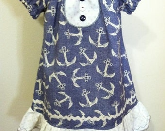 Girl's pheasant dress